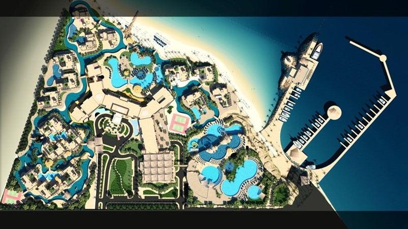 project LUXURY RESORT IN SMEISMEH - QATAR picture