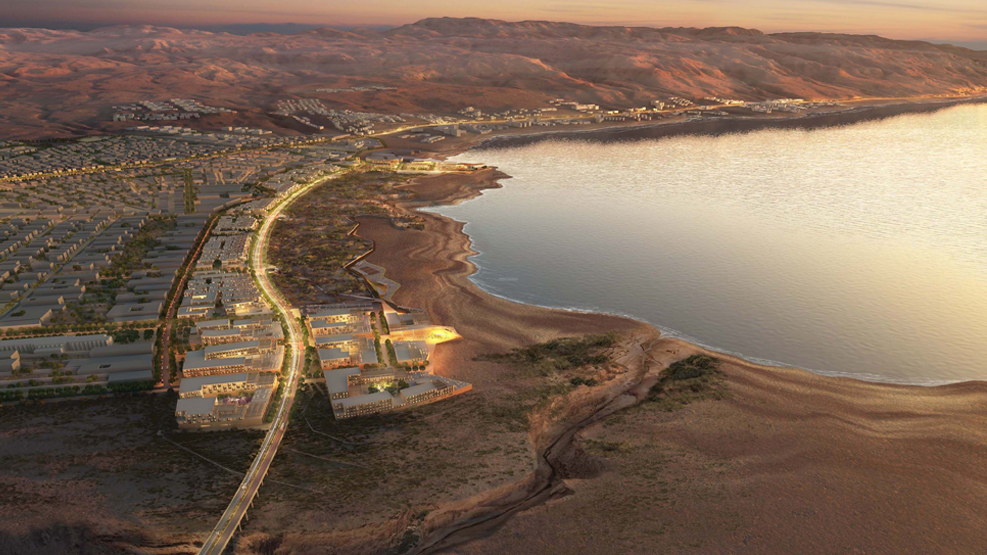 MASTER PLAN FOR THE DEAD SEA DEVELOPMENT ZONE